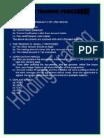 Holding Trading Procedures-new