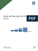 Ata e revisão do sistema 2012