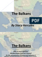 1. the Balkans - PowerPoint Overview