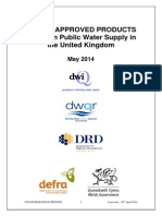 LIST OF APPROVED PRODUCTS