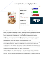 The Complete Book on Cashew