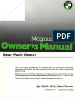Puch Magnum Owners Manual