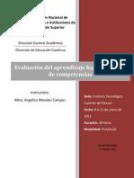 Manual Evaluacion Aprendizajes Competencias 2013