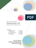 Spektrofotometri AFS