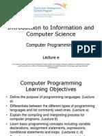 Comp4 Unit5e Lecture Slides