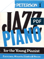 Oscar Peterson - Jazz Piano for the Young Pianist 1