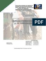 Derecho Internacional Tema 7 La No Intervencion