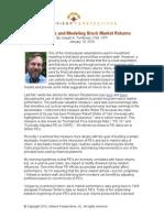Shiller PEs and Modeling Stock Market Returns