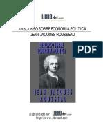 Rousseau, Jean-Jacques - Discurso sobre economía política.pdf
