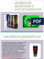 Bebidas Energeticas y Complejos Vitaminicas