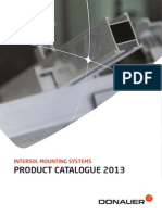 Donauer Solar Photovoltaic Mounting Systems Product Catalogue 2013