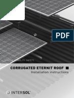 INTM Installation Corrugated Eternit Roof