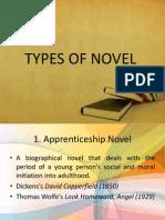 Types of Novel