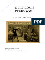 Stevenson Robert Louis - El Dr. Jekyll y Mr. Hyde