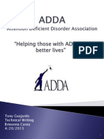 adda report final
