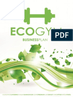 EcoGym Business Plan