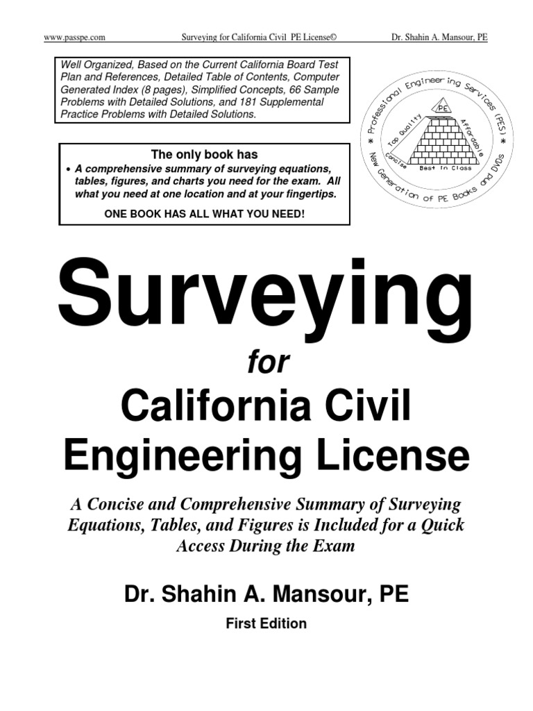 Surveying TOC | Surveying | Engineering