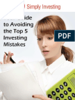 SI Top 5 Investing Mistakes