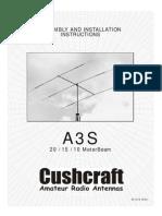 Cushcraft Beam a-3S
