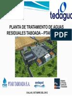 PTAR Taboada- TEDAGUA