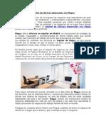 Alquiler de Oficinas Temporales Con Regus