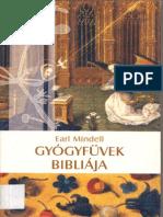 Earl Mendell - Gyogyfuvek Bibliaja