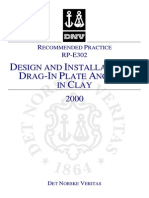 DnV-RP-E302 - Design and Installation of Plate Anchors in Clay [2000]