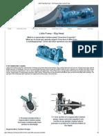 Little Pump Big Head - The Regenerative Turbine Pump