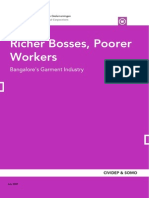 Richer Bosses- Poorer Workers