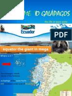 Welcome Galapagos