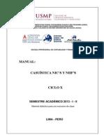 Manual Casuistica-nics y Niifs 2013