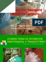 Cuidados Del Paciente Traqueotomizado