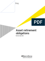Asset Retirement Obligations Revised June 2011 (EY)