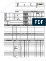 Pathfinder Character Sheet 1.0