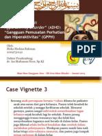 Case Vignette ADHD