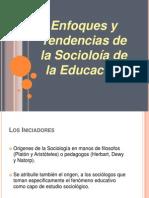 Enfoques y Tendencias de La Sociología de La Educación