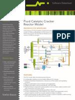 Datasheet SimSci FCC-FluidCatalyticCrackerReactorModel 12-11