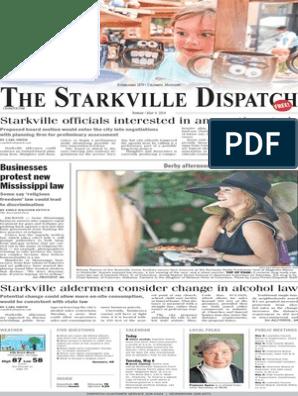 The Starkville Dispatch EEdition 5-4-14 | Ukraine | Israeli