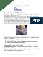 Ensayos Iniciales de Laboratorio Extraccion-tecnificada-Oro-cianuro