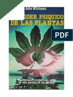 Whitman John - El Poder Psiquico de Las Plantas