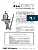 Pacific Power-C Reloading Press