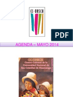 - Agenda – Mayo 2014