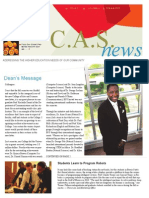 CAS Newsletter | 2012
