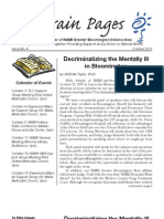 "2007 NAMI Newsletter, ""Decriminalizing the Mentally Ill"""