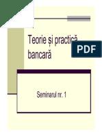 Seminar 1 Th Bancara