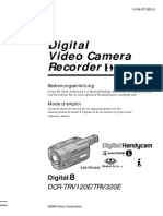 Dcr-trv320 Manual Camcorder