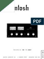 McIntosh MC2105 Ser