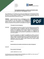 Actualización de la Segunda Resolución de Modificaciones a la Resolución Miscelánea Fiscal para 2014