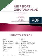 Case Report Pneumonia