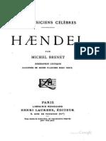 Haendel - Michel Brenet